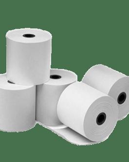 PACK 10 UND. – Papel térmico de 57 mm – Rollo de 20MT – A036