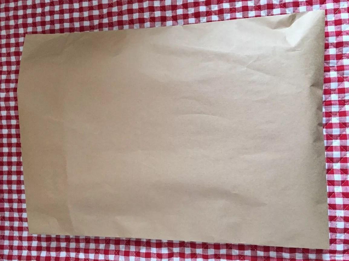 ポスター梱包の封筒