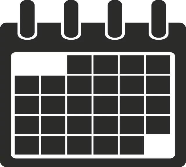 メルカリ海外販売のカレンダー