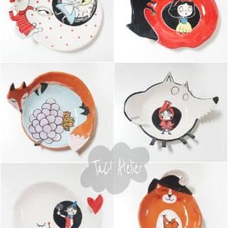 Nella pancia di… Le favole in ceramica di TaC Atelier
