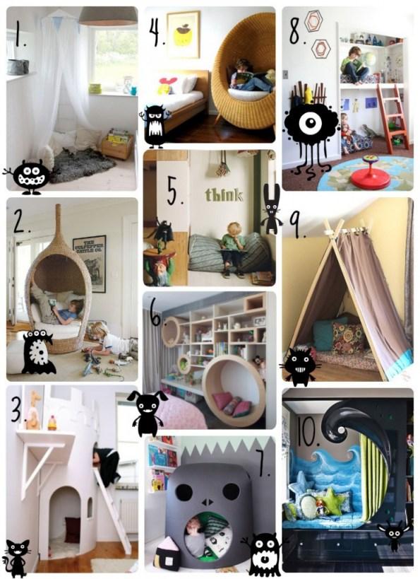 10 reading nook for kids