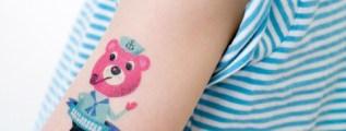 Piccoli tatuaggi, grande stile.