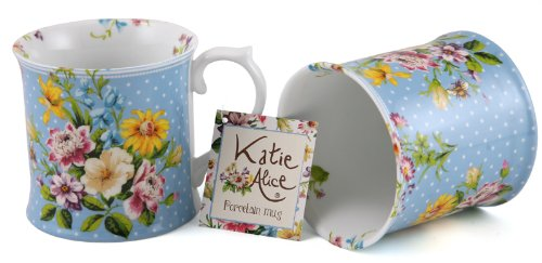 katie alice romantic porcelain mugs