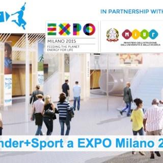 kinder+sport a expo milano 2015