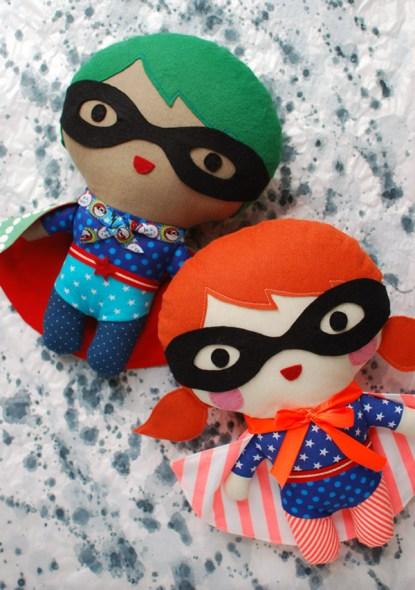 bambole supereroi faidate