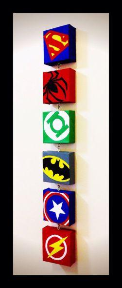 quadri supereroi