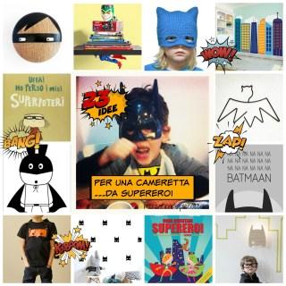 23 idee per una cameretta da Supereroi