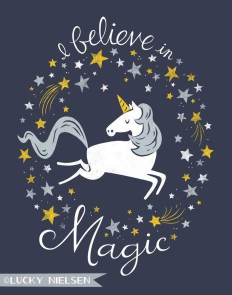 Illustrazione unicorno
