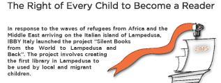 IBBY Silent Book. Libri senza parole. Destinazione Lampedusa
