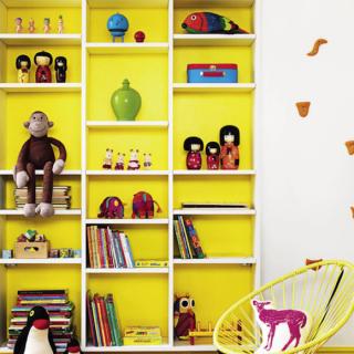 Camerette per bambini: ispirazioni in giallo