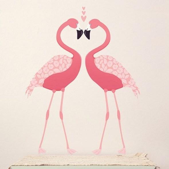 adesivi-fenicottero-rosa smallable