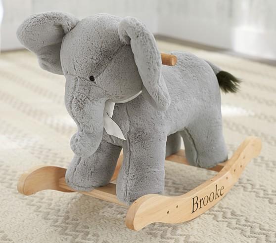 dondolo per bambini ad elefante