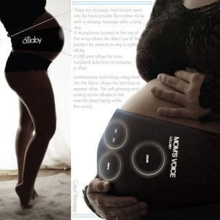 Massaggio e musica nella fascia gravidanza per le mamme geek e tech