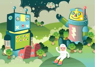 Fiona Lang superoboturbo Sammy and Her Robot Friends