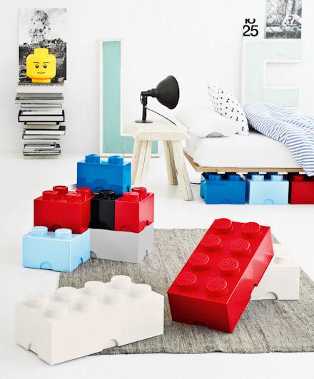 I lego giganti per riporre i giocattoli mercatino dei for Lego giganti arredamento