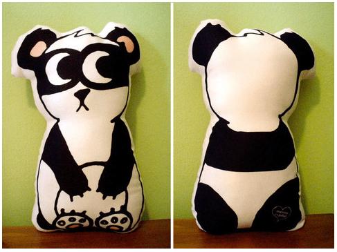 cuscino panda