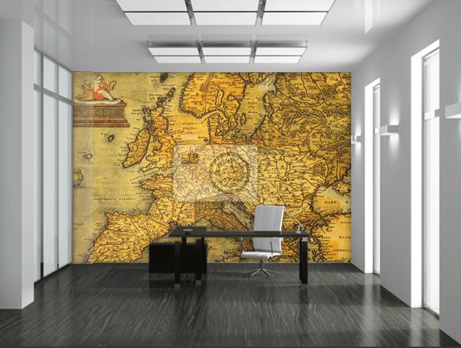 mappa antica simulazione ambiente