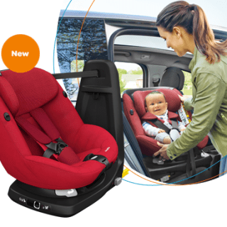 Sicurezza e Comodità in auto con i bambini: AxissFix di Bébé Confort