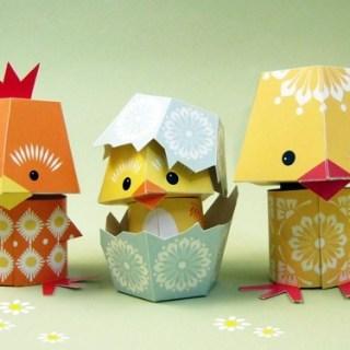 Di decorazioni in cartone
