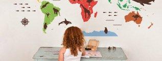 13 Mappe per decorare le pareti e cominciare a viaggiare