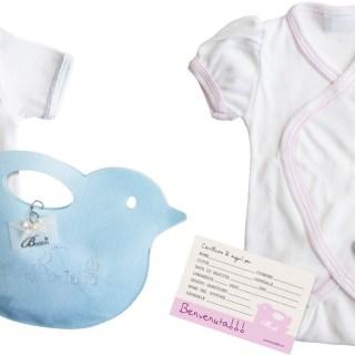 Body in cotone bio e confezione regalo: Bodibù