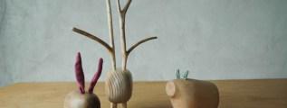 Pol Eno, i meravigliosi animaletti in legno massello