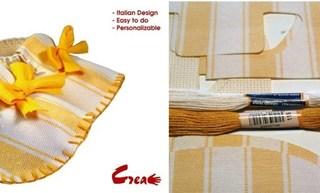 Le scarpine di Sveva, il kit fai da te made in Italy