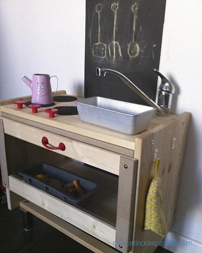 come ho costruito la cucina giocattolo per i miei bambini ... - Cucine Bambini Ikea