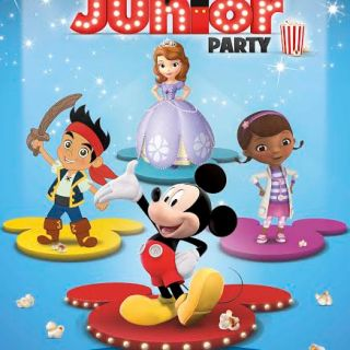 Disney Junior Party, bambini per la prima volta al cinema!