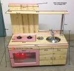 Come costruire una cucina giocattolo in legno per i propri figli.
