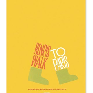 Libri & design: Henri's Walk to Paris di Saul Bass