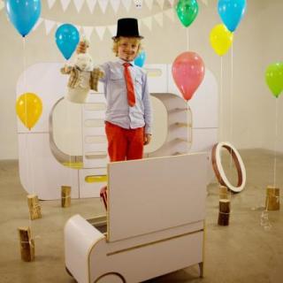 Contemporaneo, bianco, ordinato: IO Kids Design mi piace!