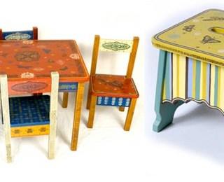 """<!--:it-->Sgabelli, sedie e tavolini. Fantasia e """"verdi"""" trame <!--:-->"""