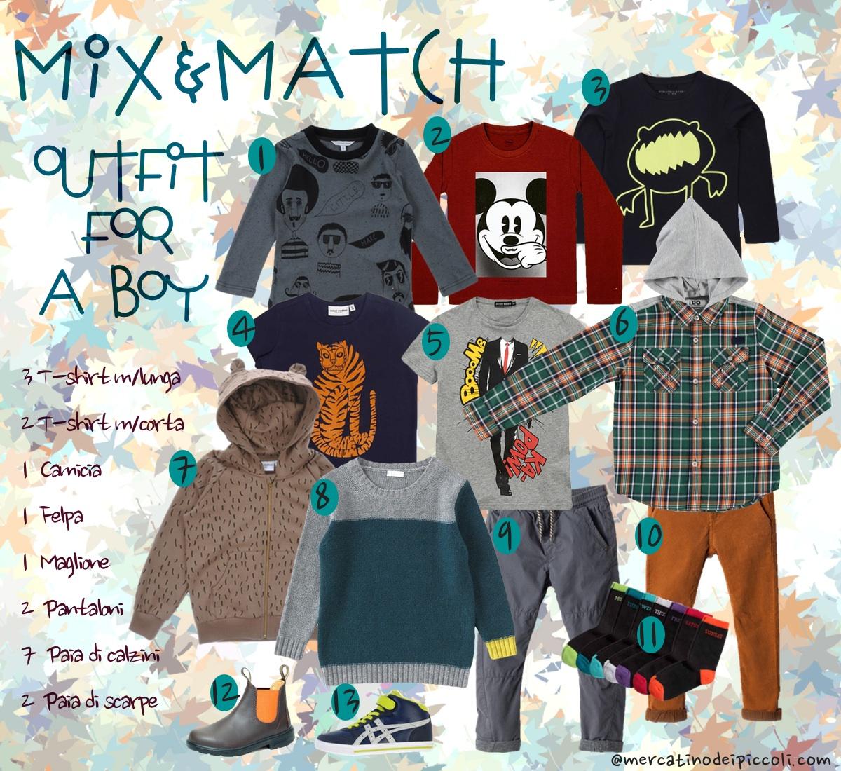 outfit_Boy_Mix&match moda bambino