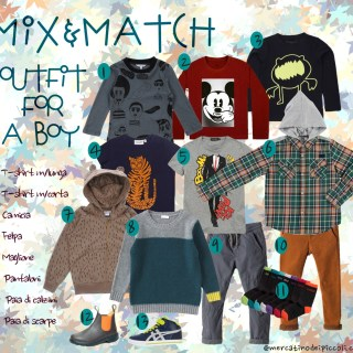 Mix&Match 12 pezzi per 12 outfit bambino (finalmente!)