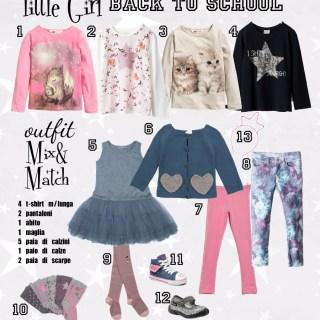 Little-Girl Outfit ✰12 pezzi per 12 combinazioni