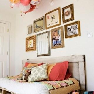 Pallet e fantasia: DIY per decorare la cameretta