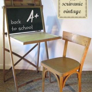 Back to school: scrivanie vintage per bambini