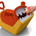 mostro mangia giocattoli