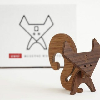 Modern Wood Animals, pensati per adulti che amano giocare