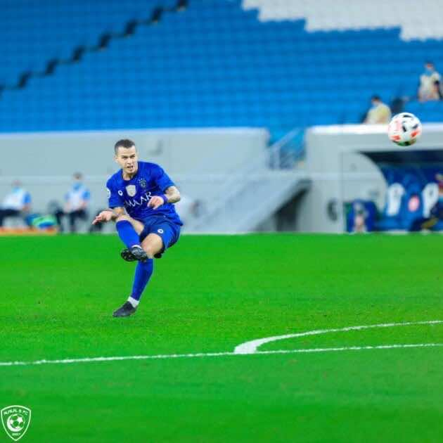 Pictures of Al Hilal and Pakhtakor match - the moment Giovinco hit the ball for the first goal