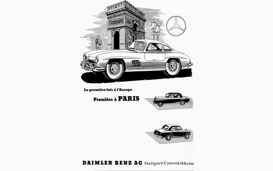 Mercedes-Benz 300 SL Coupé / Gullwing Register #198.040
