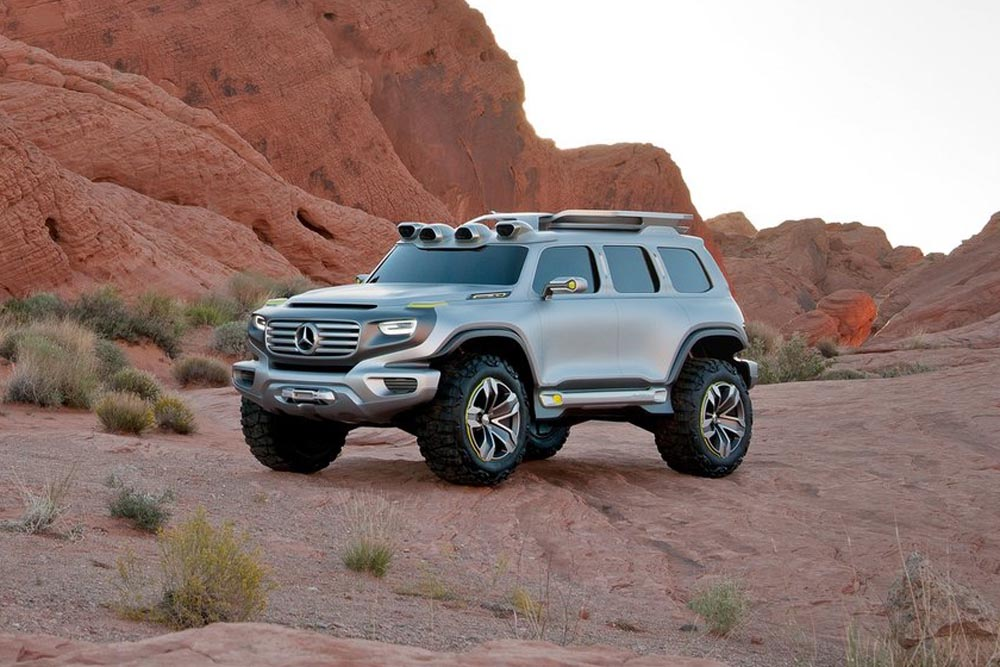Confirmed Baby G Wagen New Mercedes GLB Will Share