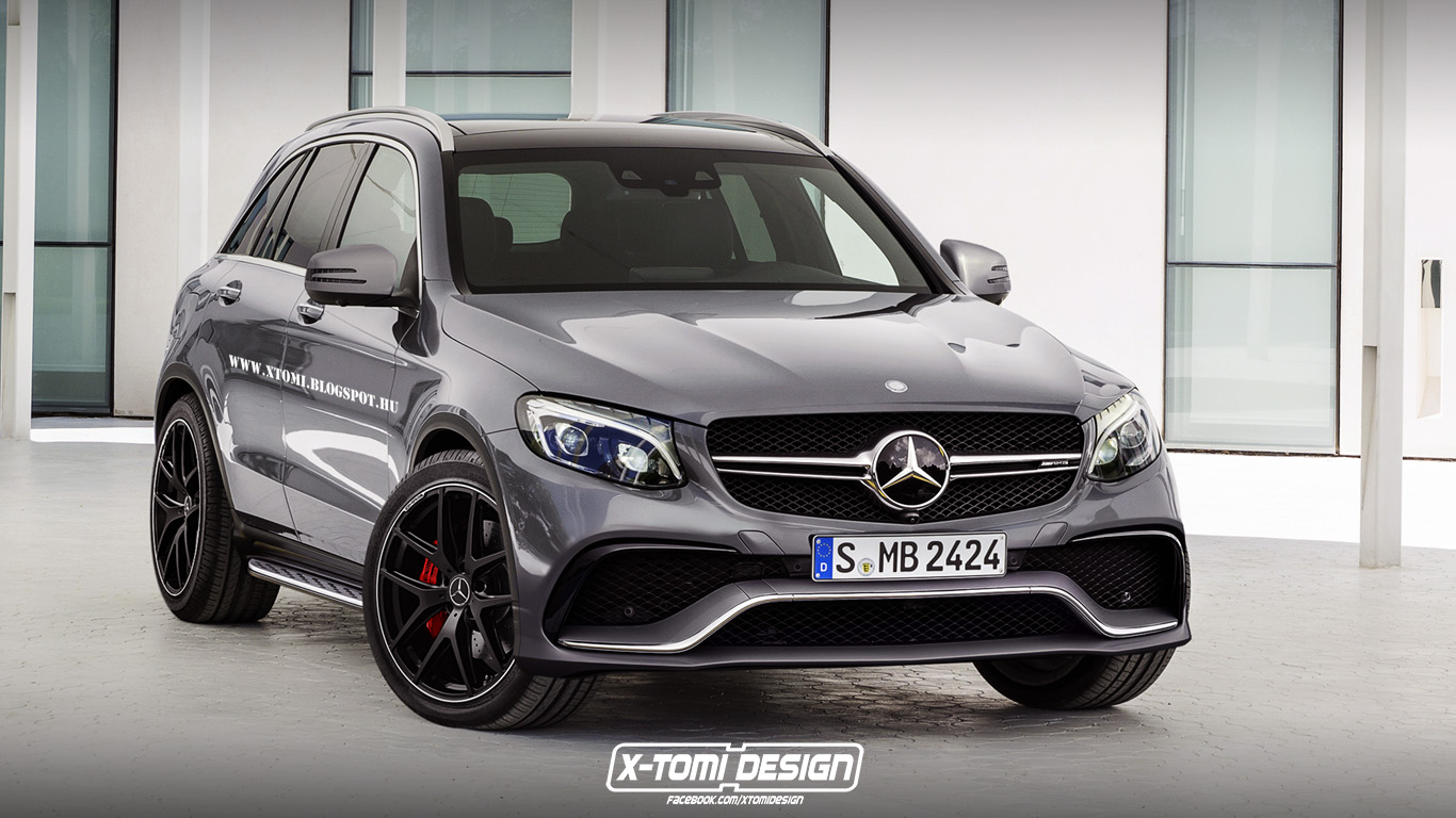 How Would A Hotter Mercedes Benz GLC 63 AMG Look Like
