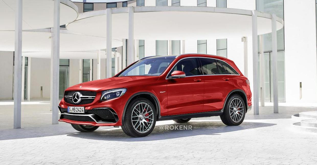 Could This Be The Hot New Mercedes GLC AMG Super SUV