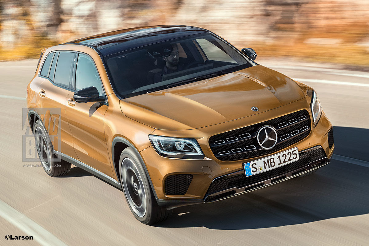 2019 Mercedes GLB Latest Info And Spy Pictures Are Here