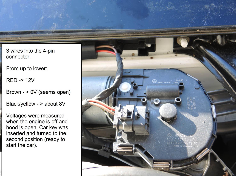hight resolution of w212 wiper motor wiring question 001a jpg