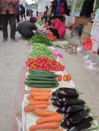 Food market - Guilin area