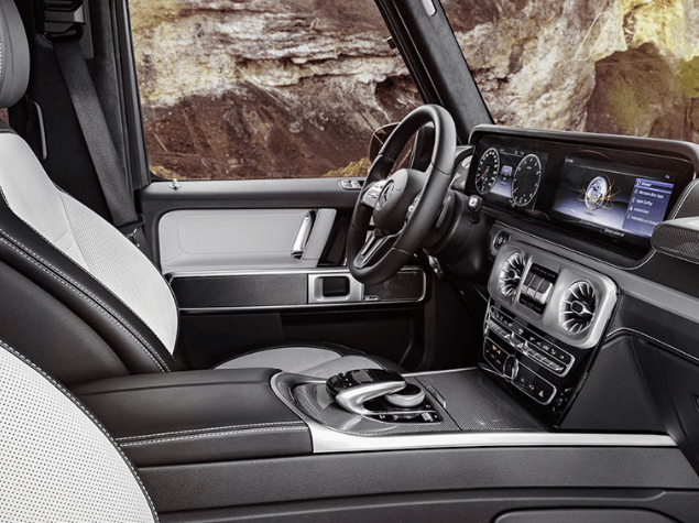 2020 Mercedes Benz G Wagon Interior