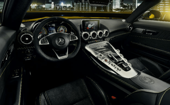 2019 Mercedes Benz AMG GT Interior